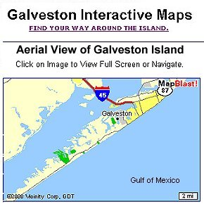 Galveston Island Map...Click for full screen....